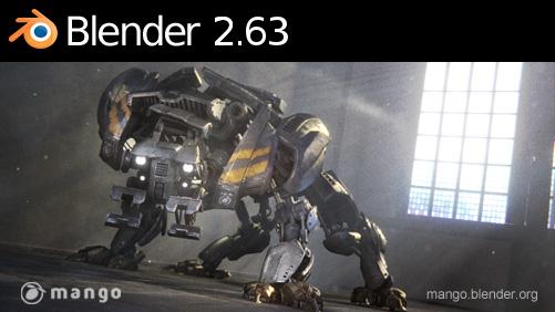 BLENDER 2.63 TÉLÉCHARGER