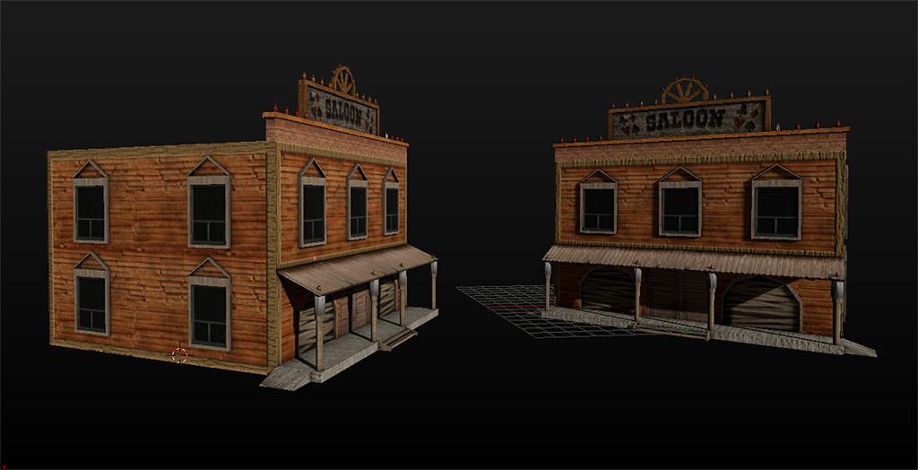 Forums moteur de jeu gameblender et alternatives - Dessin saloon ...